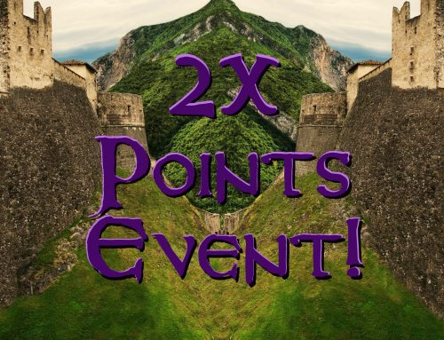 Double Your Points Sale, Nov 29-Dec 02.